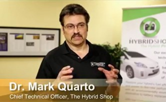 Dr. Mark Quarto, PhD and GM veteran, discussing hybrid battery conditioning