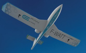 EADS Innovation Works E-Fan Electric Airplane Takes Flight