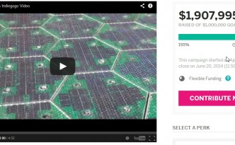 Solar Roadways set to better than double their original Indiegogo crowdfunding campaign