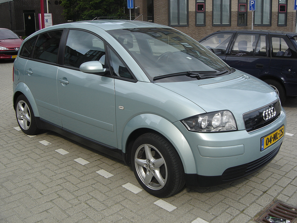 Audi A Fuel Economy Ahead Of Its Time The Green Optimistic - Audi a2