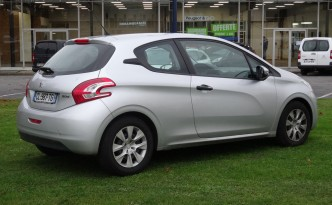 Peugeot Hybrid 208 2L - Based on the current PureTech 208 (pictured)