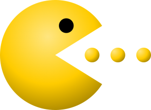 PacMan eating pellets