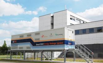 »SGESS« – Energiespeichersystem am Fraunhofer IFF in Magdeburg.
