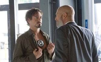 Tony Stark and his arc reactor (c) Paramount Pictures