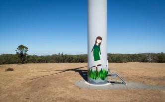 Gale's mural (c) Hepburn Wind