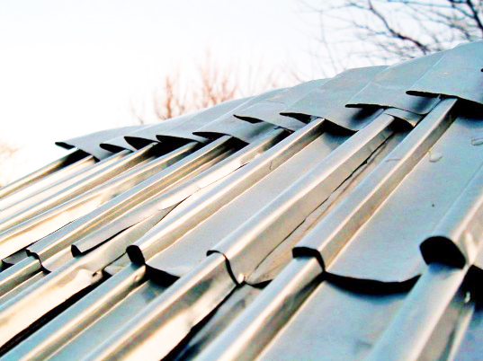 How To Make Shiny Roof Shingles From Recycled Aluminum