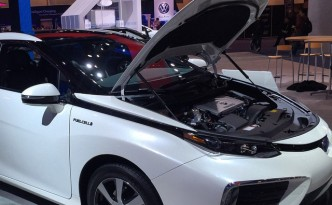 Toyota Mirai Hydrogen Fuel Cell Vehicle, Ready to Change the World
