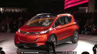 Chevy Bolt EV Concept: Range 200+ Miles at $30,000