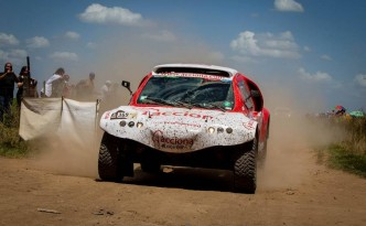 ACCIONADakar‬ in action  from ACCIONA Dakar‬ Facebook Page