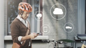 World-first technology by Volvo and POC connects cycle helmets with cars