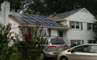 Renewable energy even works on small residential installations.