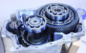 Single-speed electric vehicle transmission by Borg Warner for the original Tesla Roadster.