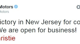 Tesla Motors, Open for Business in New Jersey