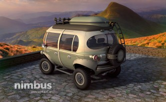 Nimbus e-Car electric vehicle concept.