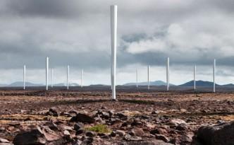 Bladeless wind turbines
