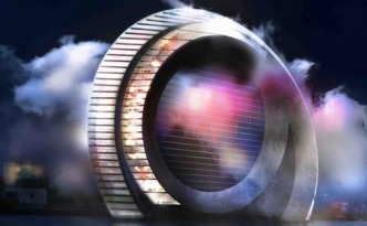 The Dutch Windwheel is Powered by its Encased 'Silent Wind Turbine'