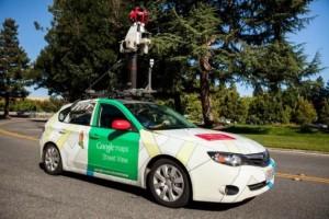 Aclima sensors on a Google Street View car.