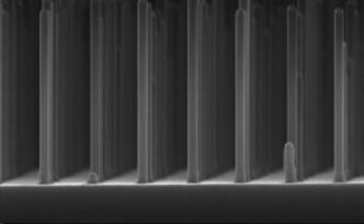 Game-Changer: A gallium phosphide nanowire grid.