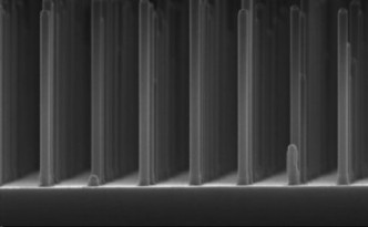 Game-Changer: A gallium phosphide nanowire grid.