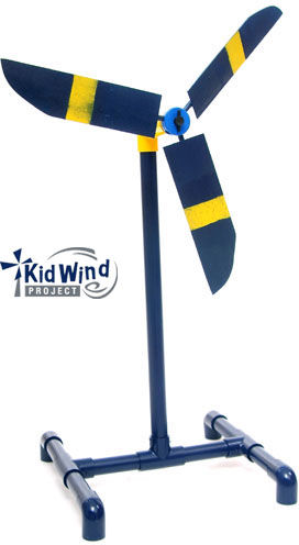 How to build a diy toy wind turbine for your kids the green optimistic windturbine this fun diy project solutioingenieria Images