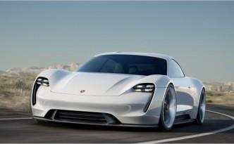 The Porsche Mission E.