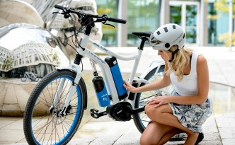 Hydrogen Fuel Cell Bicycle, a World-First by Linde AG