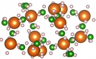 These atoms may one day store hydrogen fuel in cars.