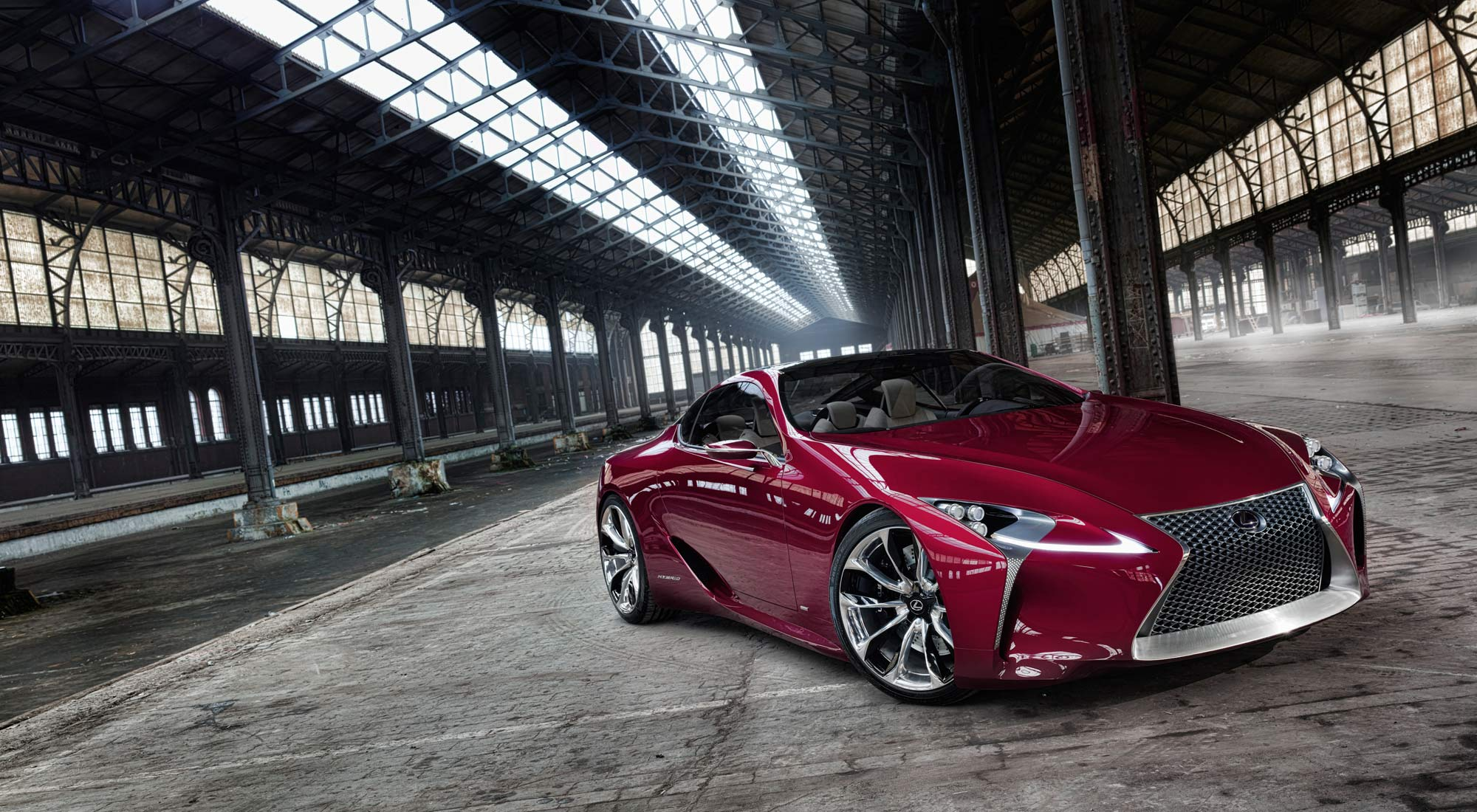 Toyota S Luxury Vehicle Division Lexus Has Introduced The Newest Concept Car Fc Lc Also Known As Fuel Cell