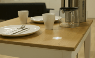 Ikea electric table concept