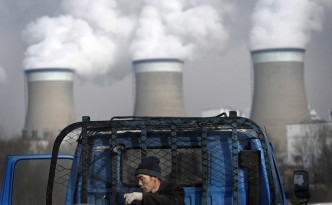 A coal-fired power plant in Shanxi province, China.