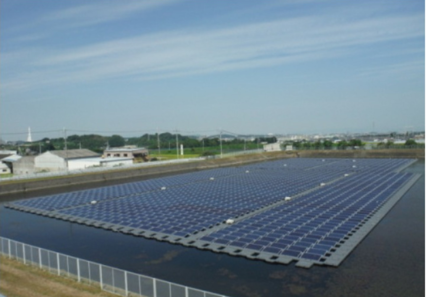 japan's largest floating solar plant being built - the green optimistic