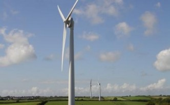Direct drive wind turbines like these are growing in popularity.