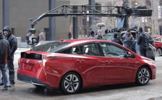 Prius shoot in a superbowl in Chicago