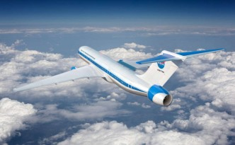 NASA is working on a hybrid aircraft concept like this one.