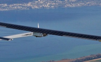 Solar Impulse 2, in flight, is paving the way for the next aircraft.