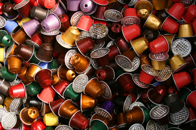 Image result for coffee capsules wastage
