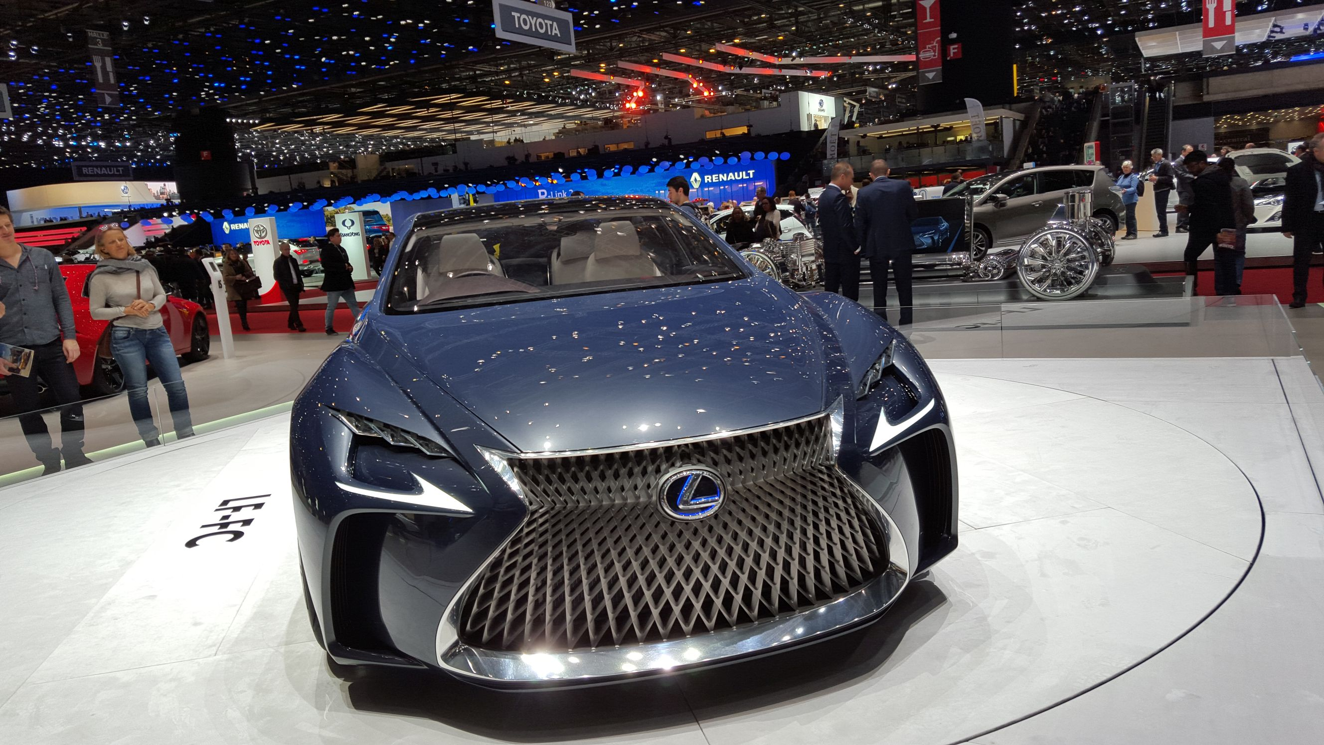 6 Lexus Lf Fc