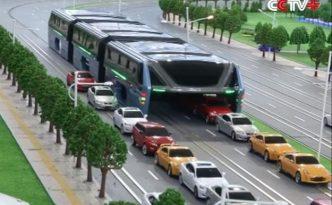 china-teb-elevated-bus-traffic