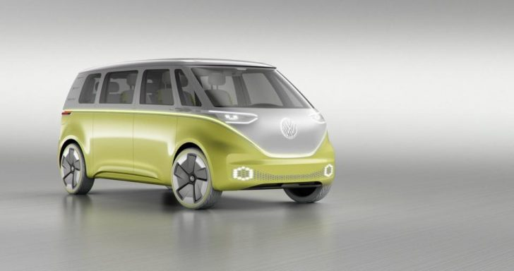 The Vw Bus Is Back With An Autonomous 350hp Electric Version The