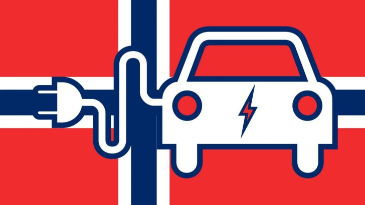 Growth Of Electric And Hybrid Car Sales In Norway Surpassed 50 In