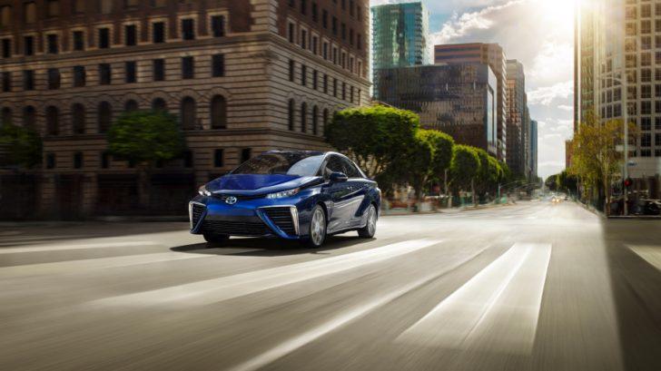 Toyota Mirai Hydrogen Fuel Cell Vehicles