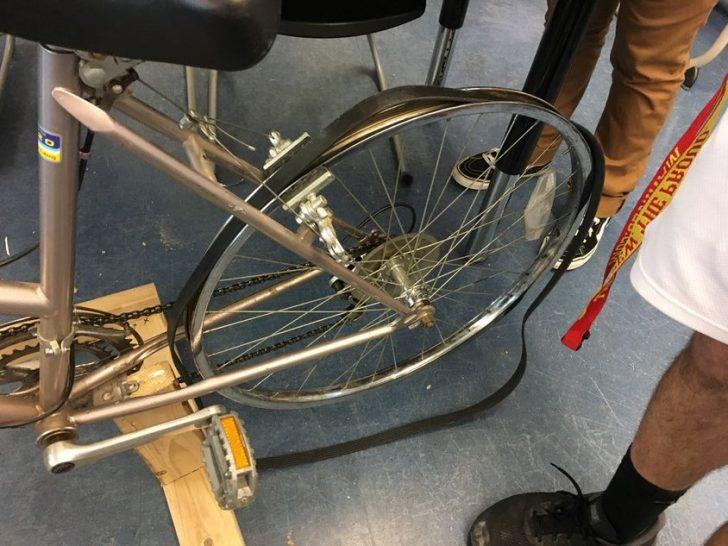 DIY Bicycle Powered Generator