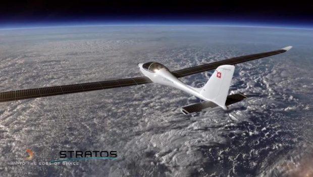 Electric Solar Airplane SolarStratos