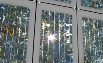 See-Through Solar Cells Windows