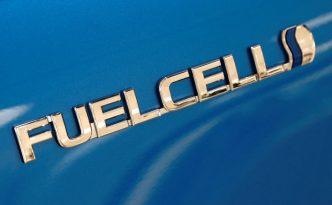 Toyota Mirai hydrogen fuel cell vehicle