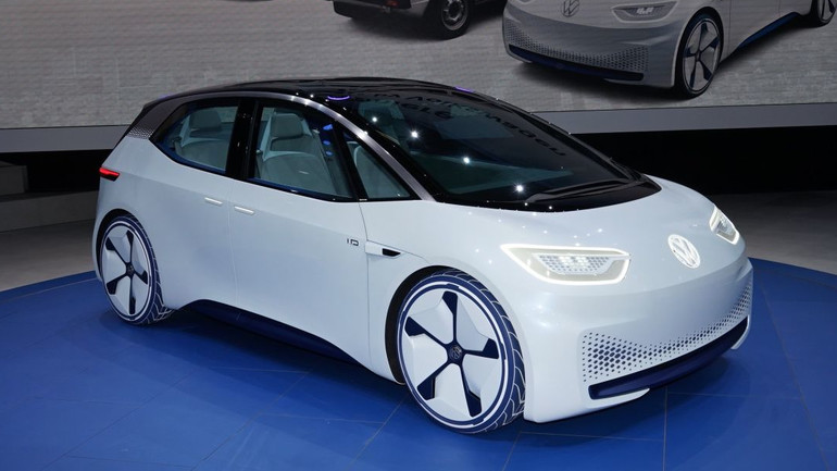 The Volkswagen Id Electric Car Is Aned To Be A Tesla Model 3 Rival Although No Company Including Has Yet Produce An
